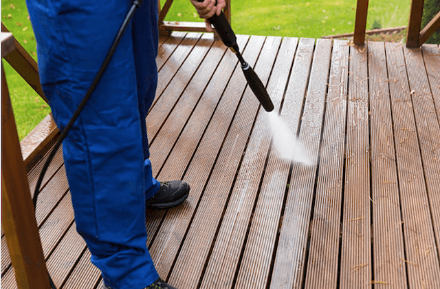 deck cleaning fayetteville