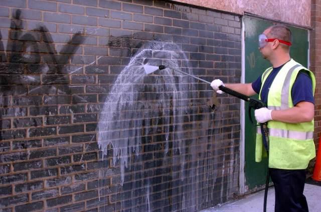 graffiti removal in fayetteville
